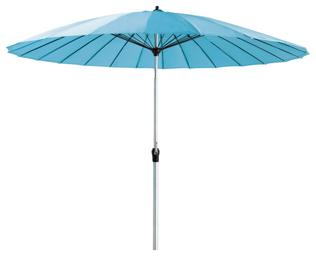 turquoise parasol papaye modern parasols by maisons du monde. Black Bedroom Furniture Sets. Home Design Ideas