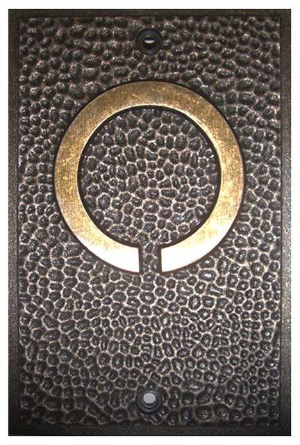 frank lloyd wright house numbers bronze finish 0 arts. Black Bedroom Furniture Sets. Home Design Ideas