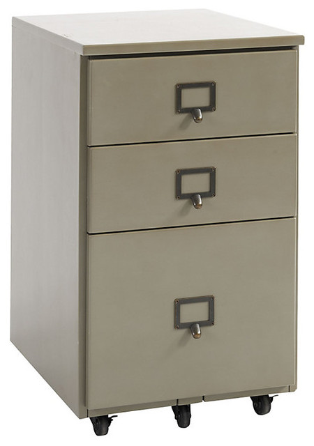 original home office castered 3 drawer file contemporary