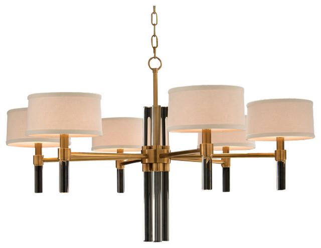 john richard six light glass spear chandelier. Black Bedroom Furniture Sets. Home Design Ideas