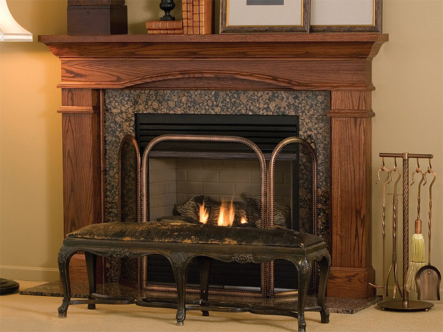 Hawthorne Wood Fireplace Mantel