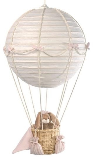 Mini Line Hot Air Balloon Nursery Lights Contemporary