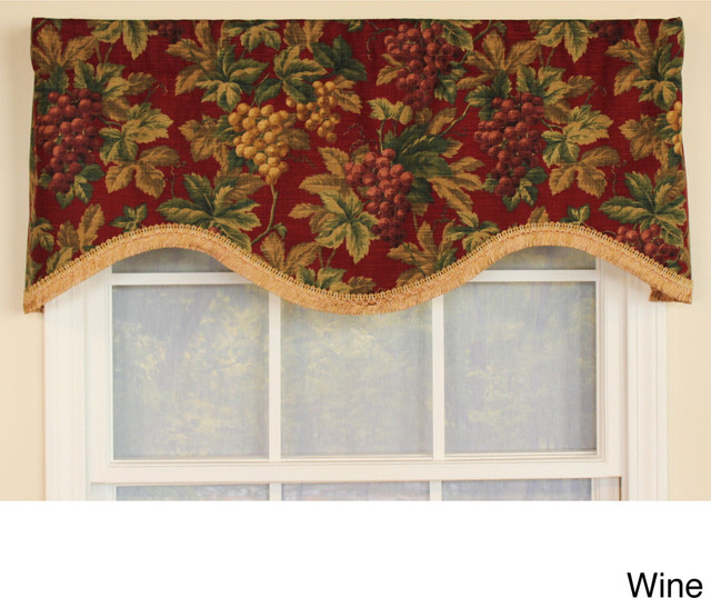 through the grapevine cornice window valance contemporary valances by. Black Bedroom Furniture Sets. Home Design Ideas