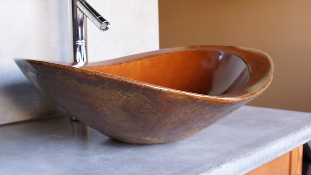 Cool Sinks Eclectic Bathroom Sinks Charlotte By BDWG Concrete Studio
