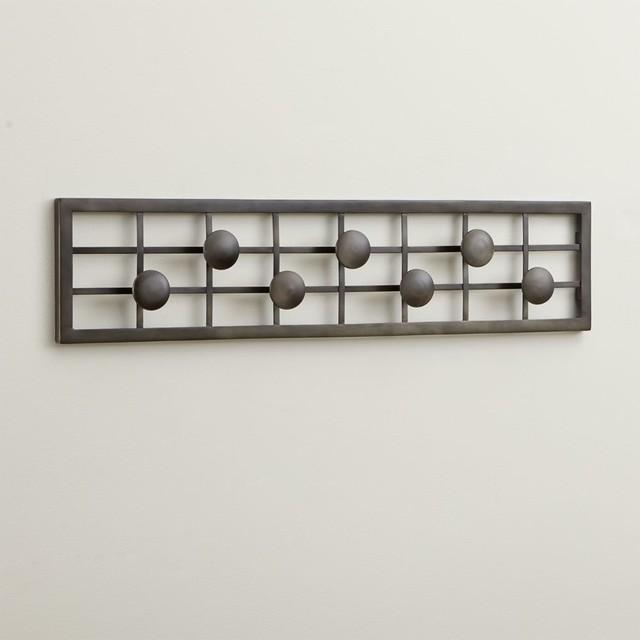 Grid Wall Mounted Coat Rack Contemporary Coatracks And
