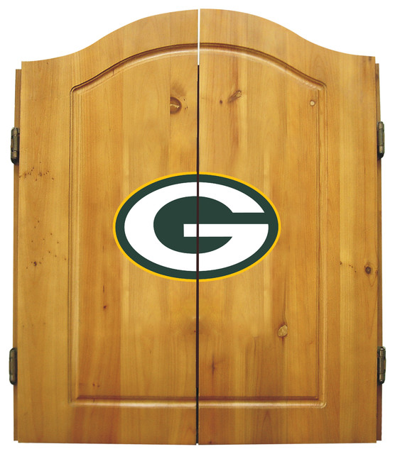 Green Bay Packers Dart Cabinet Game Room And Bar Decor
