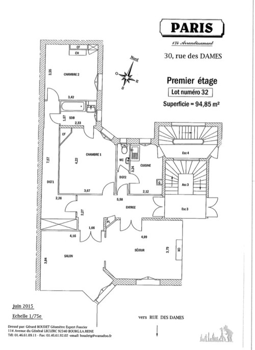 Redessiner le plan de l 39 appartement pour obtenir 3 chambres for Obtenir des plans