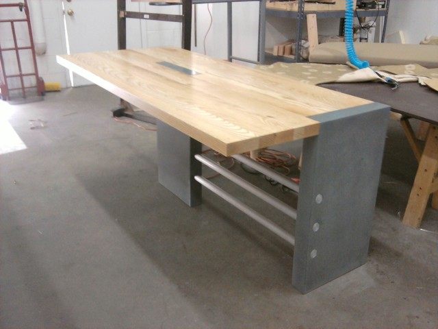 Butcher Block Kitchen Table Modern Dining Tables