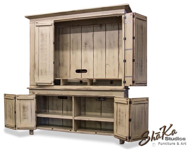 fairfield 65 inch tv cabinet custom entertainment center. Black Bedroom Furniture Sets. Home Design Ideas