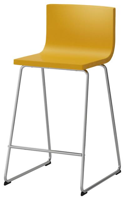 Bernhard moderne chaise et tabouret de bar par ikea for Chaise bernhard ikea