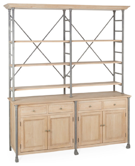 Constance Buffet - Industrial - China Cabinets And Hutches ...