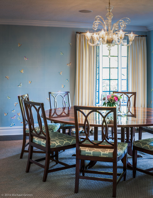 Patricia knox designs traditional dining room new for Dining room design questions