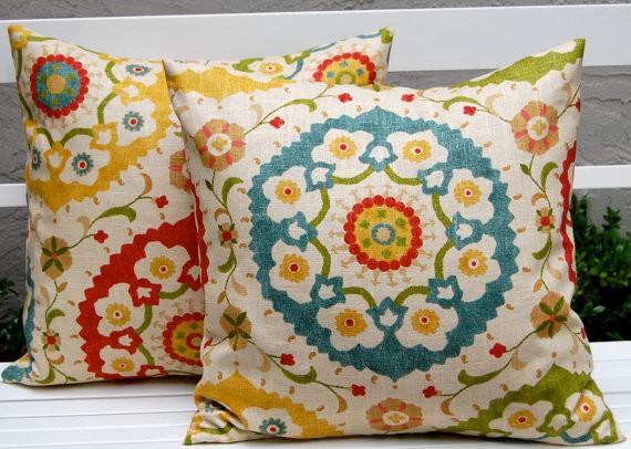 richloom cornwall garden throw pillow cushion covers by festive home decor mediterranean decorative pillows