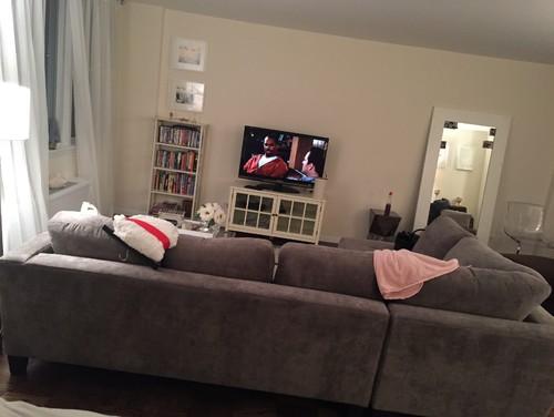Help with sofa arrangement please for Macys rylee sectional sofa
