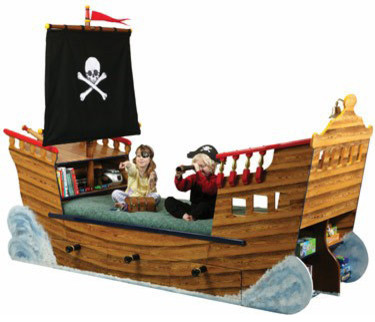 Pirate Ship Bed Eclectic Kids Beds Other By Kool Kiddy