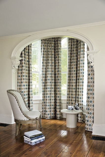 Smith and noble single pleat drapery traditional for Smith and noble shades