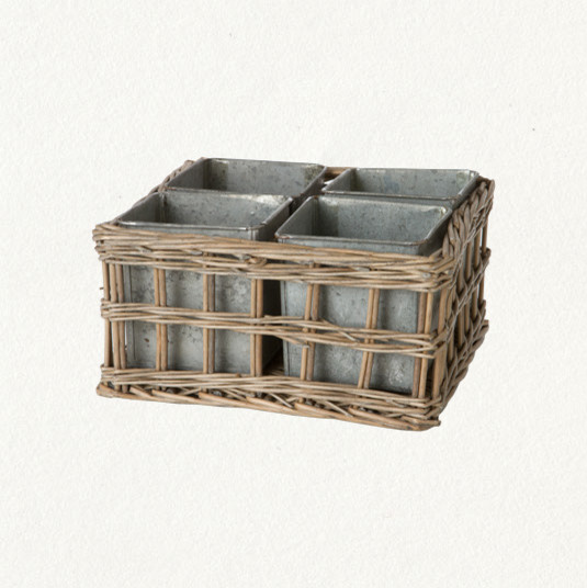 Nested Tray Eclectic Indoor Pots Planters By Terrain