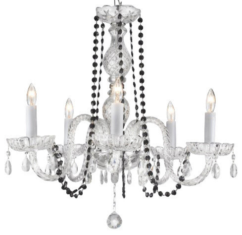 Rachelle Crystal Chandelier With Crystal Balls
