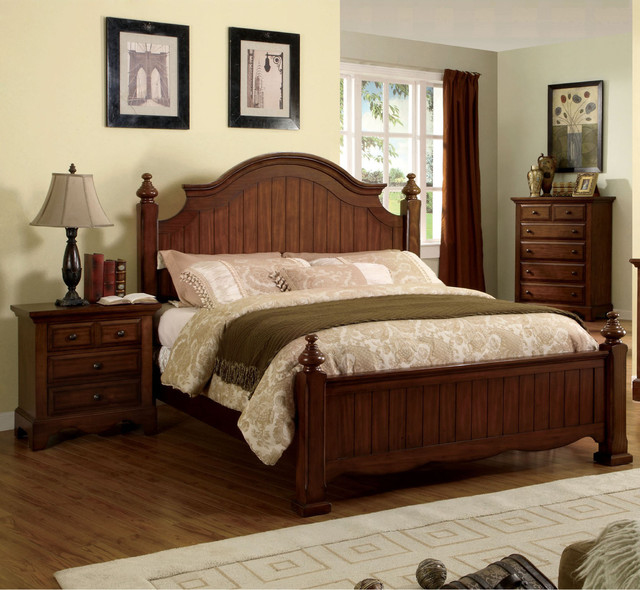 piece light walnut poster bedroom set contemporary bedroom furniture
