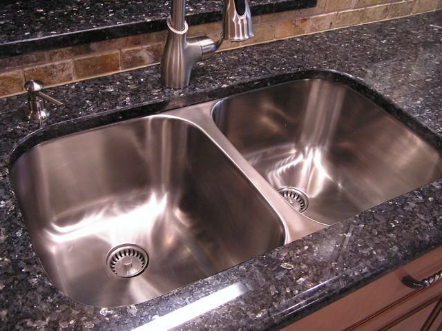 Dbl Kitchen Sink With Drainboard On Right Side  Kitchen Ideas Awesome Undermount Kitchen Sink Decorating Design