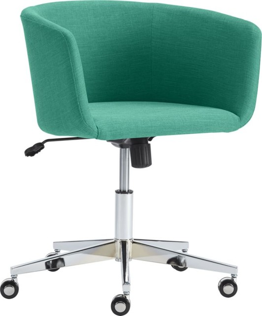 Coup Teal Office Chair Contemporary Office Chairs by CB2 : contemporary office chairs <strong>Teen Swivel</strong> Desk Chair from www.houzz.com size 532 x 640 jpeg 41kB