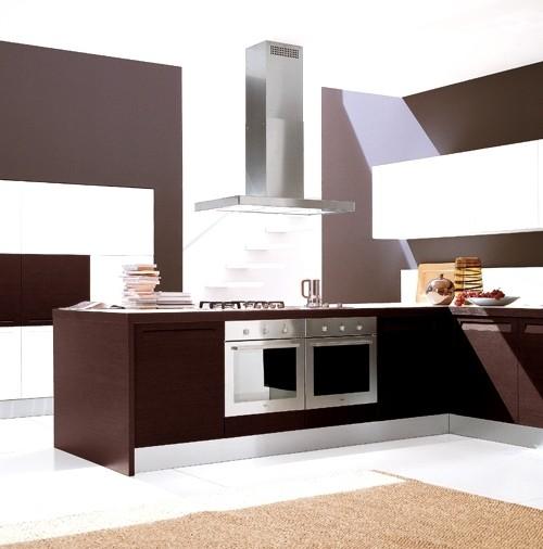 "Modern Kitchen Vent Hood: 48"" Plane Island Designer Stainless Steel Rangehood"
