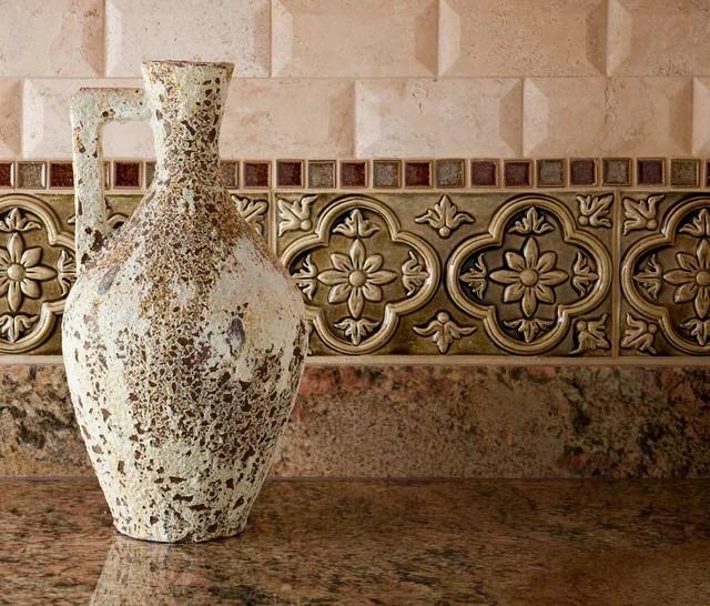 Mediterranean Kitchen Backsplash Ideas: Venetian Palazzo