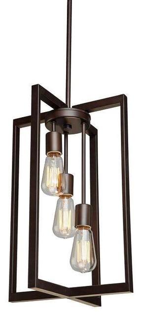 Artcraft Lighting Acthree Gastown Chandelier Oil Rubbed Bronze Transitional Chandeliers