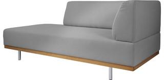 fifties m ridienne accoudoir gauche en tissu mid century. Black Bedroom Furniture Sets. Home Design Ideas