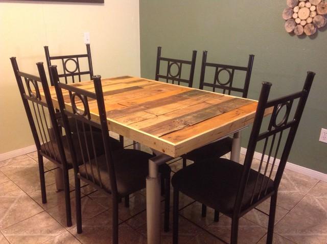 Reclaimed Modern Rustic Farm Table Farmhouse Dining Tables San