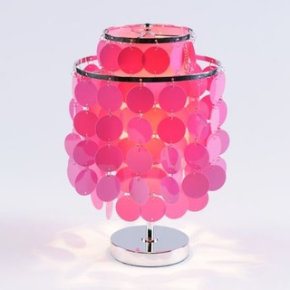 Groovy discs accent lamp contemporary table lamps by kirkland 39 s - Table lamps for teens ...