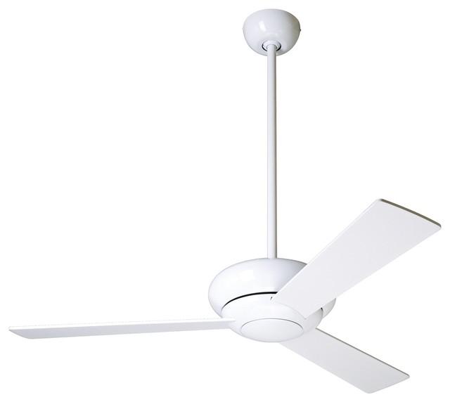 42 modern fan altus gloss white modern ceiling fan Modern white ceiling fan