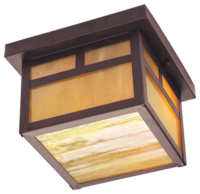 Montclair mission 2 light 10 outdoor flush mount in - Plafones para exteriores ...