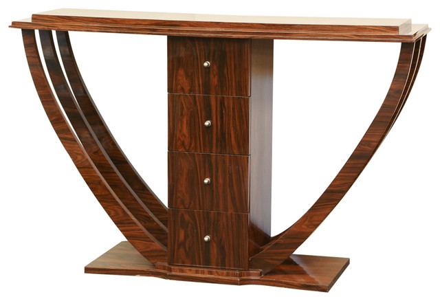 Art Deco Foyer Furniture : French art deco console table modern tables