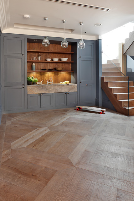 Kitchen Floors Engineered Wood Flooring London By Element 7