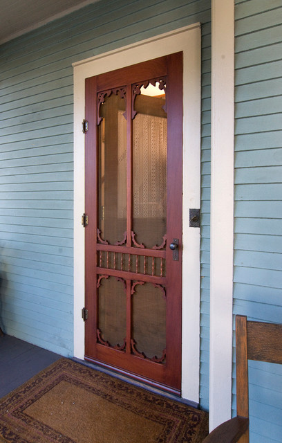 Victorian Style Screen Door by Vintage Doors - Farmhouse ...