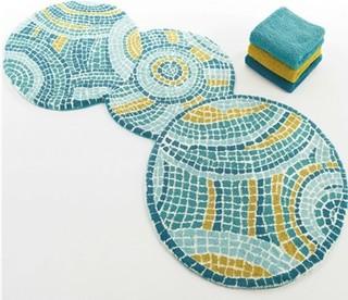 Habidecor park bath rug modern bath mats new york for Park designs bathroom accessories