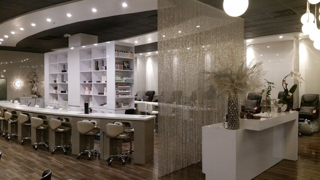 Desert nail salon modern by s s custom cabinets for 24 hour nail salon queens ny
