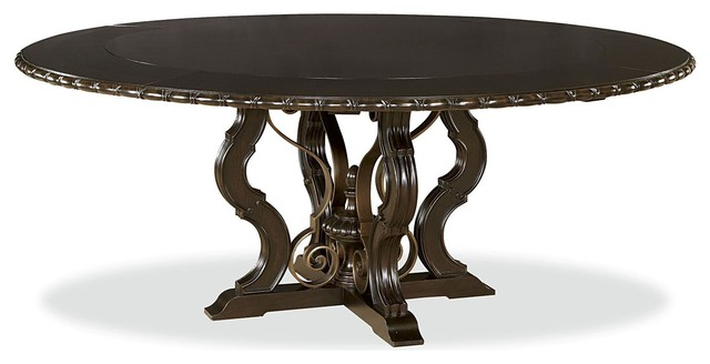 Universal Castella Toulon Dining Table Antique Black  : traditional dining tables from www.houzz.com.au size 640 x 328 jpeg 33kB