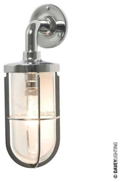 Ship s Well Glass Light 7207 Chrome - Industrial - Wall Lights - south east - by ...