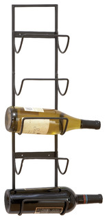 Waco Wall Mounted Iron Wine Rack Industrial Wine Racks By Gwg