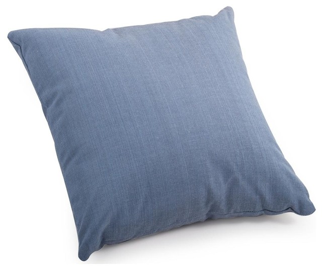 Country Blue Throw Pillows : Small Pillow in Country Blue - Contemporary - Decorative Pillows - by ShopLadder