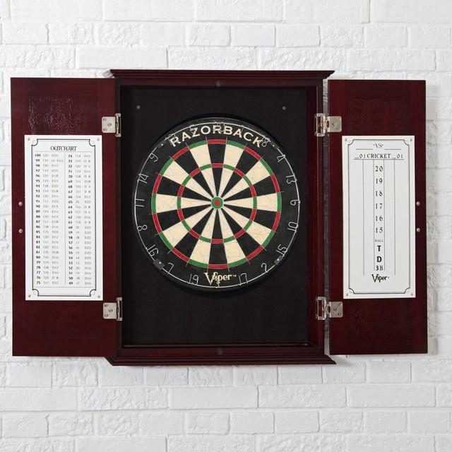 Viper RazorBack Bristle Dart Board and Wakefield Inlaid ...