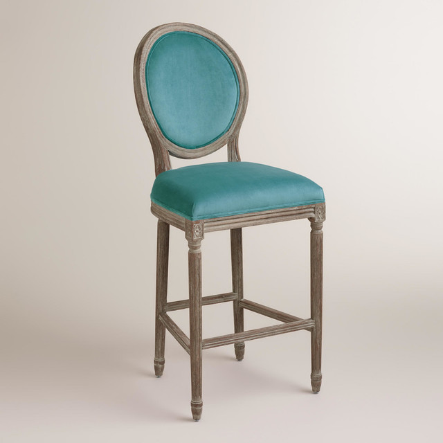 Peacock Paige Barstool Traditional Bar Stools And