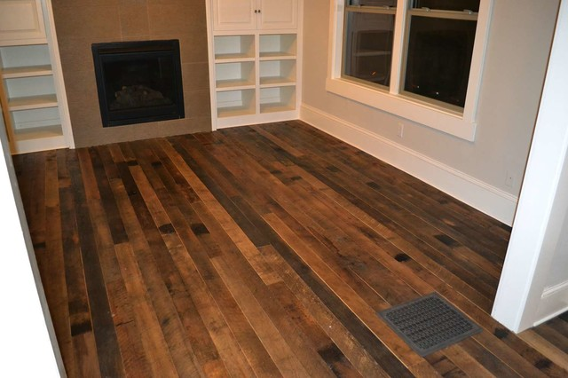 Antique barnwood rustic hardwood flooring portland Reclaimed wood flooring portland