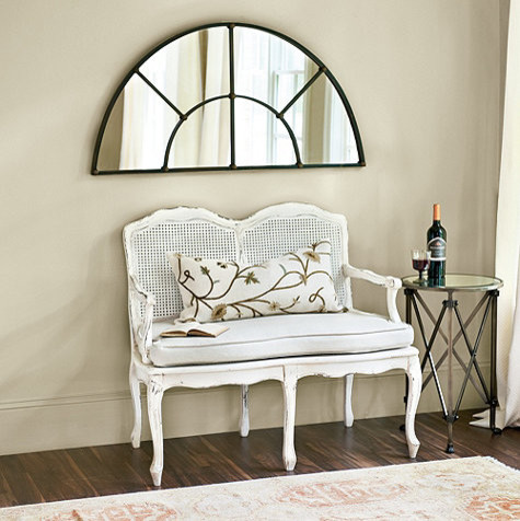 Jolee Caned Bench Traditional Upholstered Benches By