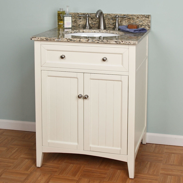 Simple Home  Bathroom  48quot Halifax Bamboo Vanity For Undermount Sink