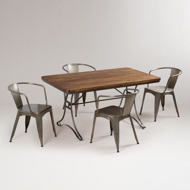 Cost Plus Industrial Coffee Table: Jackson Dining Set