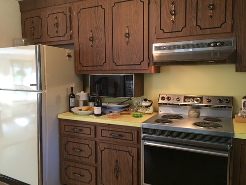 Painting Over Kitchen Cabinet Laminate