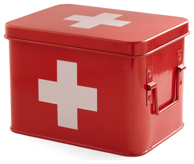 Head Over Healing First Aid Box - Contemporary - Emergency ...